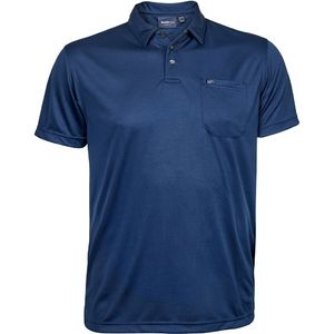 ALESSIO 167 NAVY COOL EFFECT POLO
