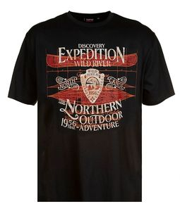 EXPEDITION 285 DARK CHARCOAL TEE
