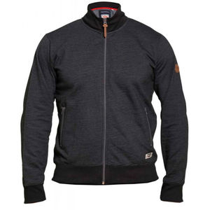 BUXTON BLACK FULL ZIP SWEATSHIRT
