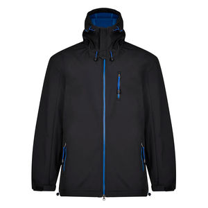 GASPAR 019 BLACK SOFTSHELL JACKET