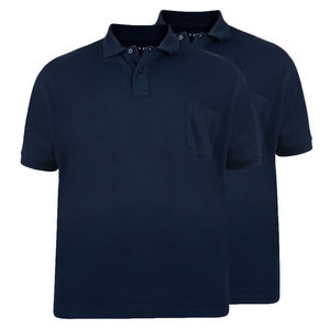 CLASSIC NAVY POLO SHIRT - 2 PCS