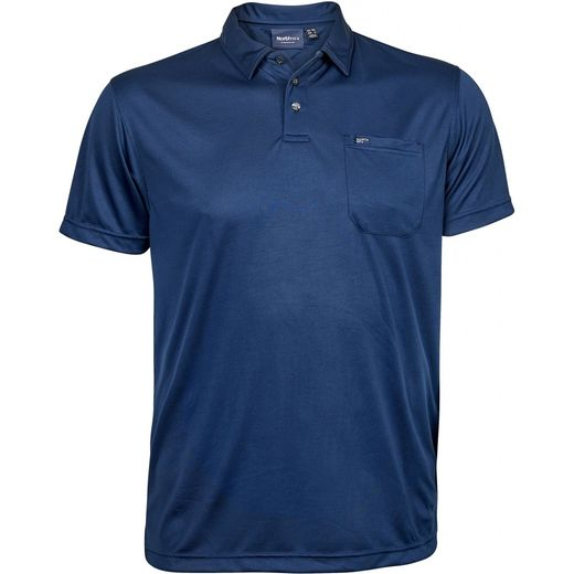 BLUE COOL EFFECT POLO