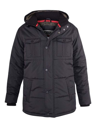 LONSDALE - Men's plus size winter parka