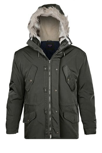 KHAKI WINTER PARKA