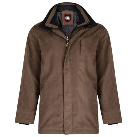 Men's plus size wintercoat