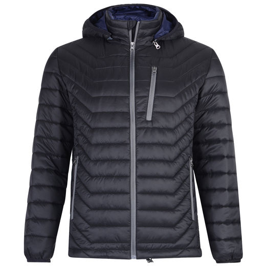 MATTEO 90 BLACK LIGHTWEIGHT CHEVRON JACKET