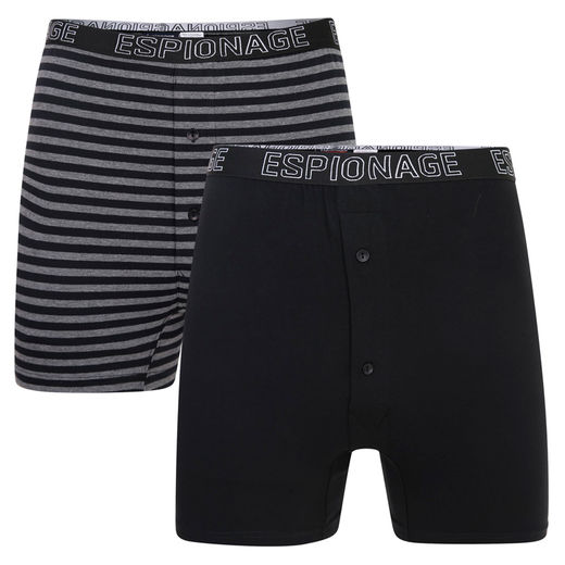 008 JERSEY TRUNKS W/ BUTTON FLY FRONT