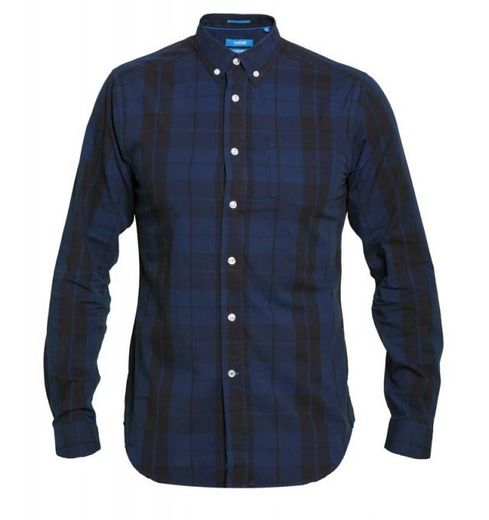 DAVENPORT BLUE CHECK SHIRT