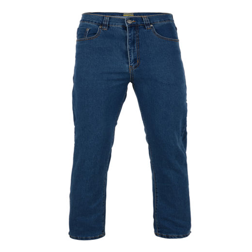 BLUE STRETCH JEANS - REGULAR LEG