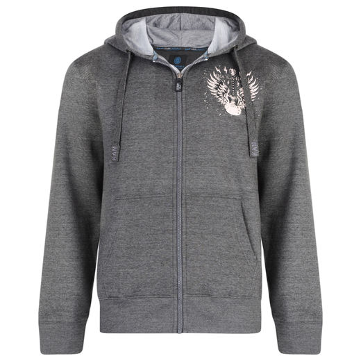 ROCK n ROLL 7003 GRAY HOODY
