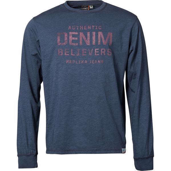 Copy of DENIM BELIEVERS 336 BLACK L/S TEE